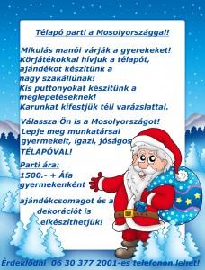 Christmas frame with Santa Claus 1